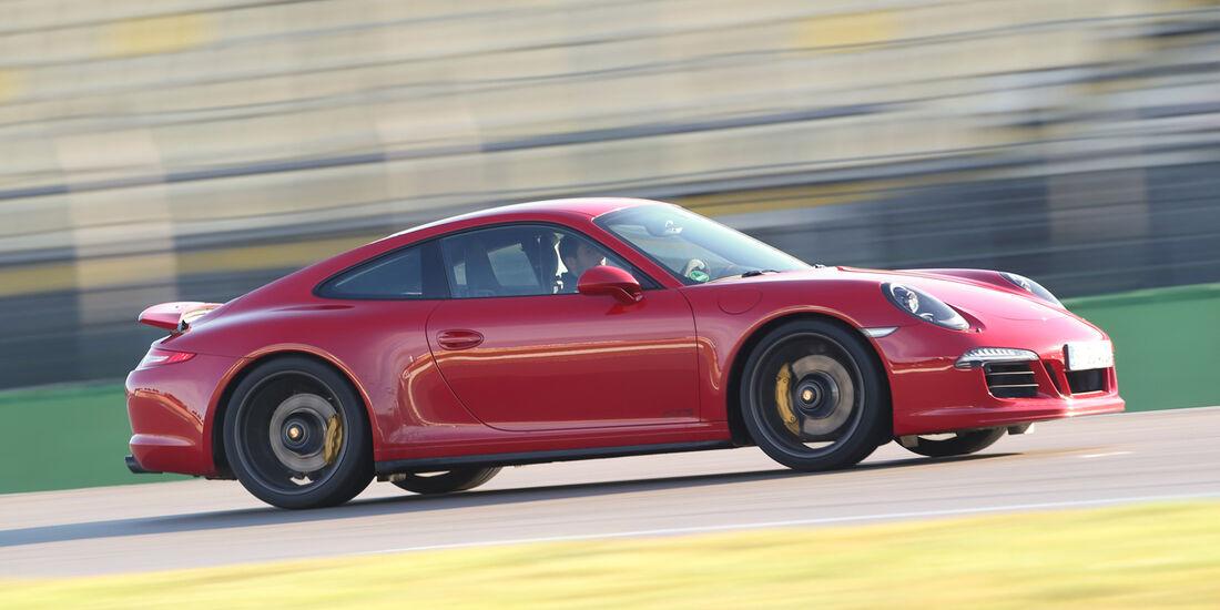 Porsche 911 Carerra GTS, Seitenansicht