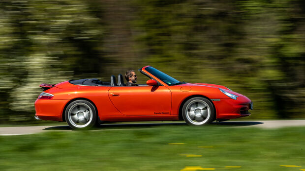 Porsche 911 Carrera 4 Cabriolet, Exterieur