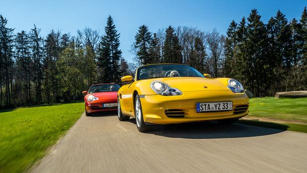 Porsche 911 Carrera 4 Cabriolet, Porsche Boxster 2.7, Exterieur