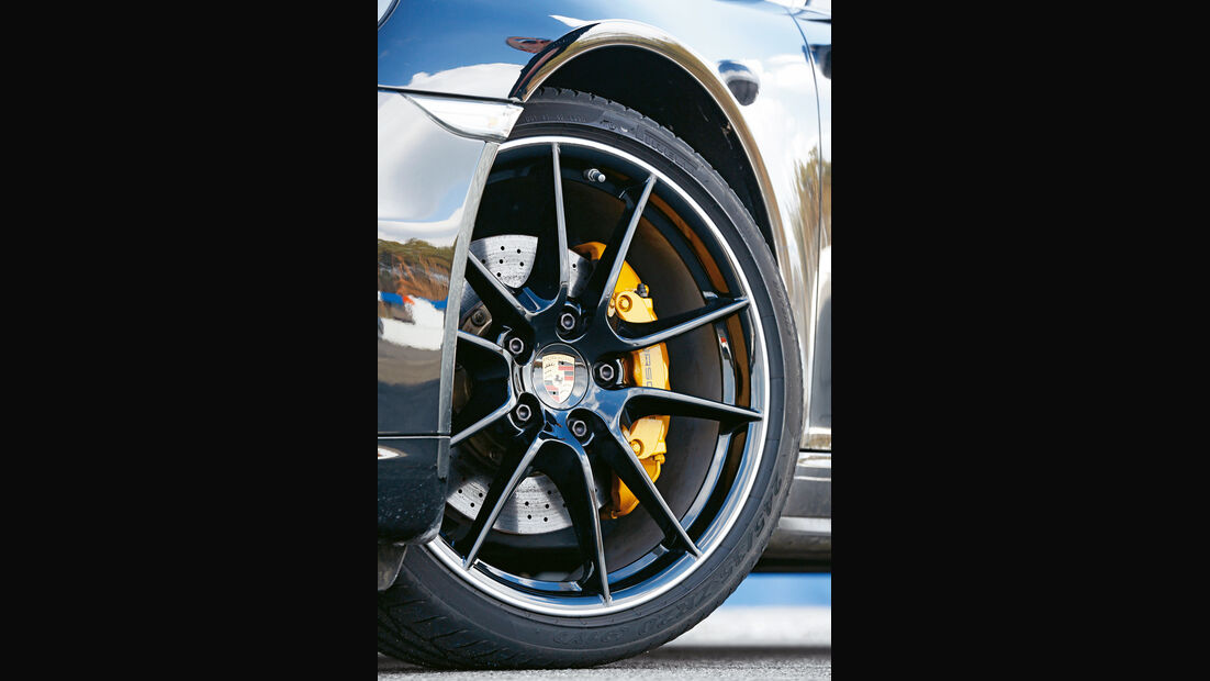 Porsche 911 Carrera 4, Rad, Felge, Bremse