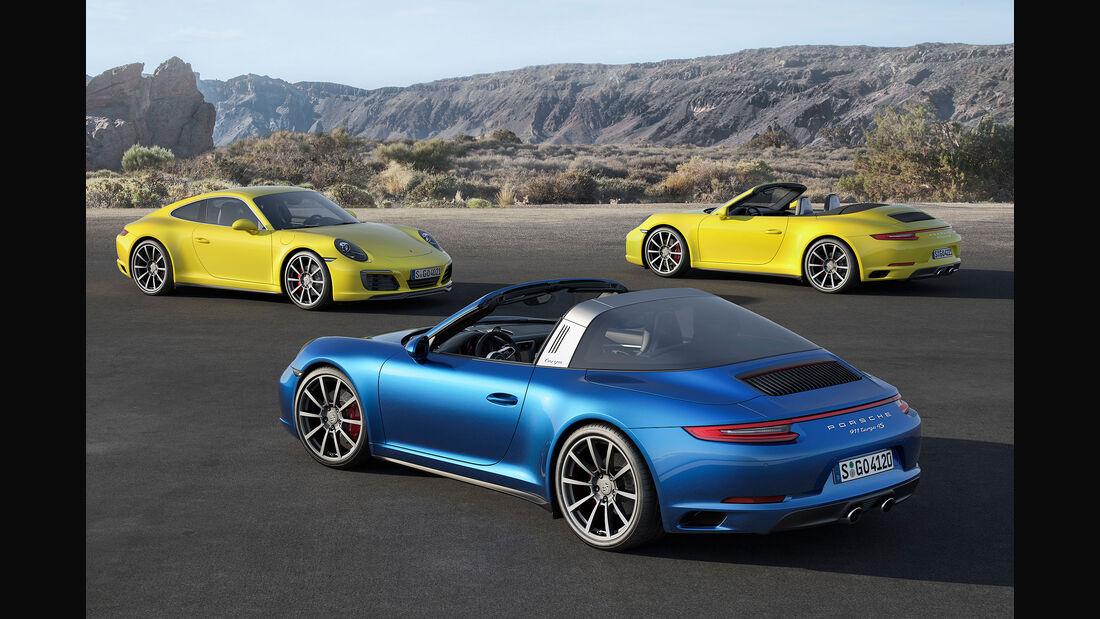 Porsche 911 Carrera 4 facelift Sperrfrist