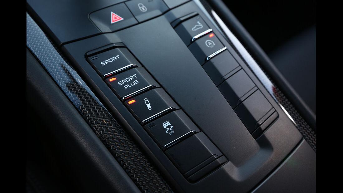 Porsche 911 Carrera 4S, Bedienelemente