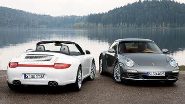 Porsche 911 Carrera 4S Cabrio Coupe