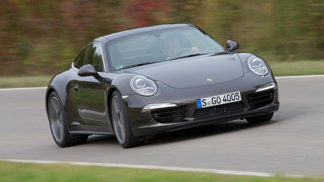 Porsche 911 Carrera 4S, Frontansicht
