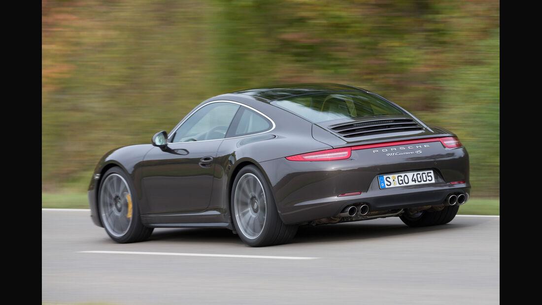 Porsche 911 Carrera 4S, Heckansicht