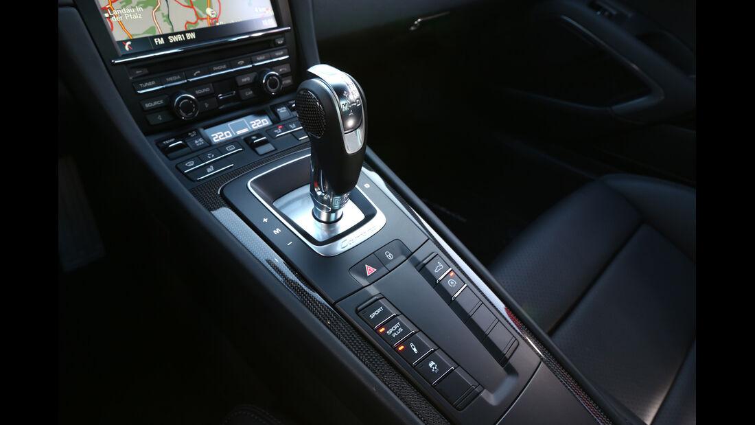 Porsche 911 Carrera 4S, Schalthebel, Schaltknauf