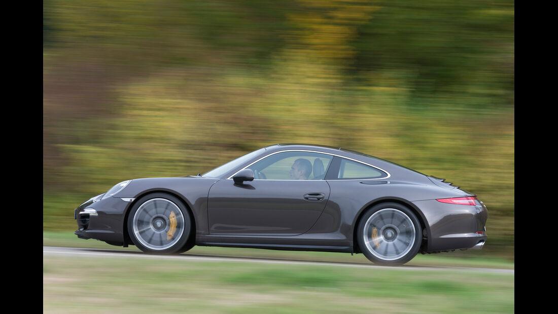 Porsche 911 Carrera 4S, Seitenansicht