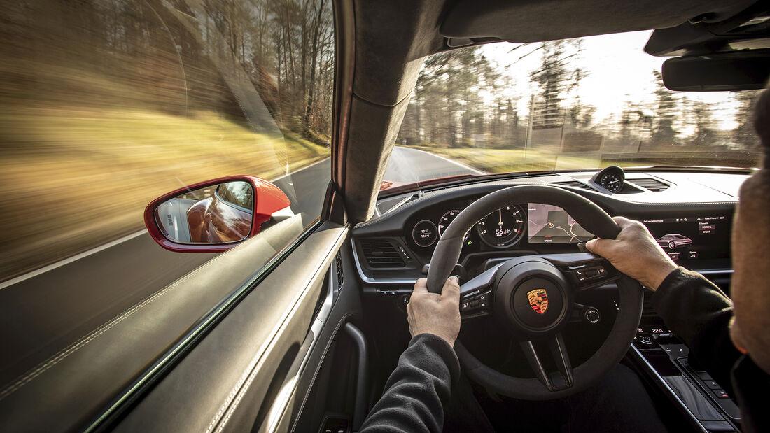 Porsche 911 Carrera, 992, Interieur