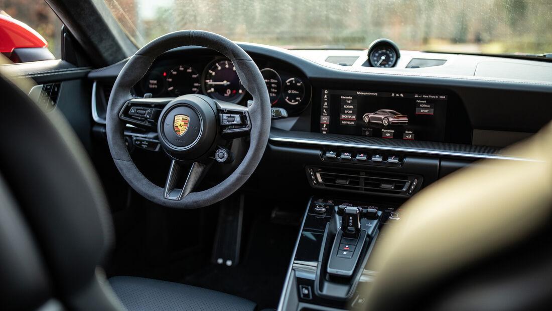 Porsche 911 Carrera, 992, Interieur, Cockpit