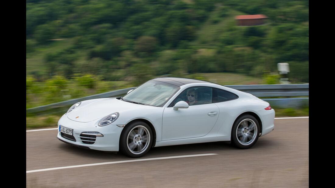 Porsche 911 Carrera Basisausführung, Frontansicht