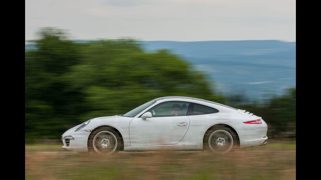 Porsche 911 Carrera Basisausführung, Seitenansicht