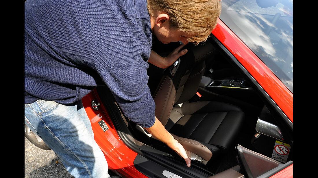 Porsche 911 Carrera, Beifahrersitz