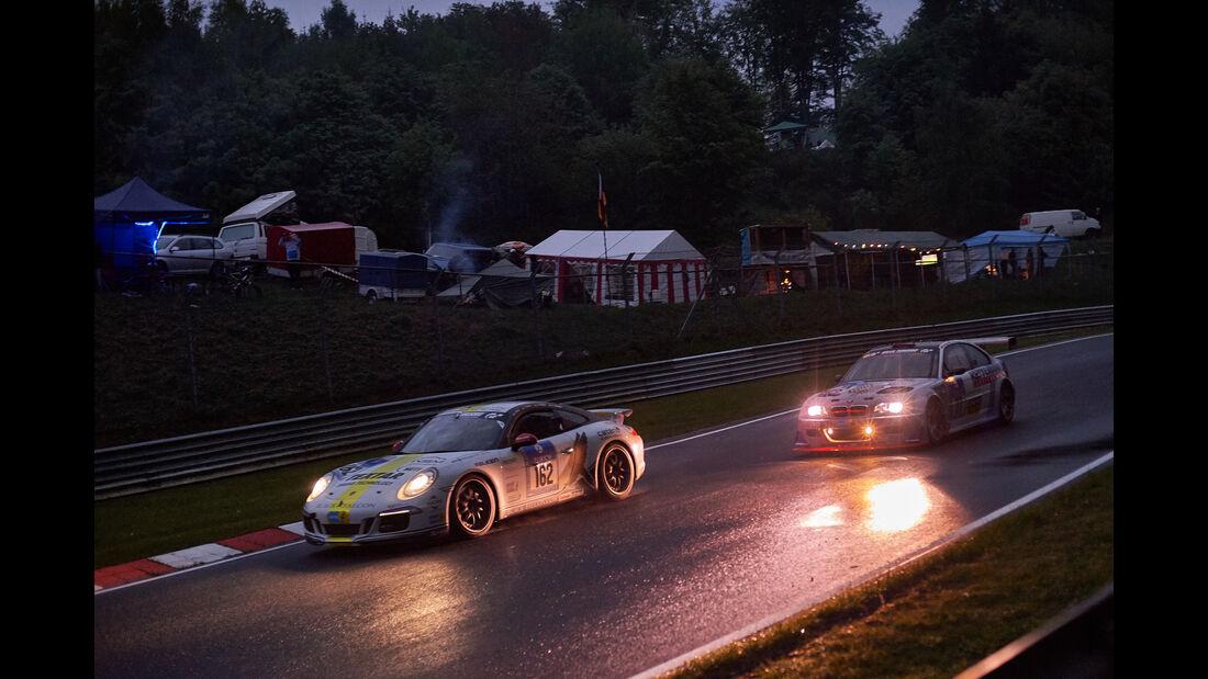 "Porsche 911 Carrera - Black Falcon Team TMD Friction - #162 - ""Philip"", Andre Kuhn, Christian Schmitz, Helmut Weber - 24h Nürburgring  - Donnerstag - 1. Qualifying - 14.5.2015"