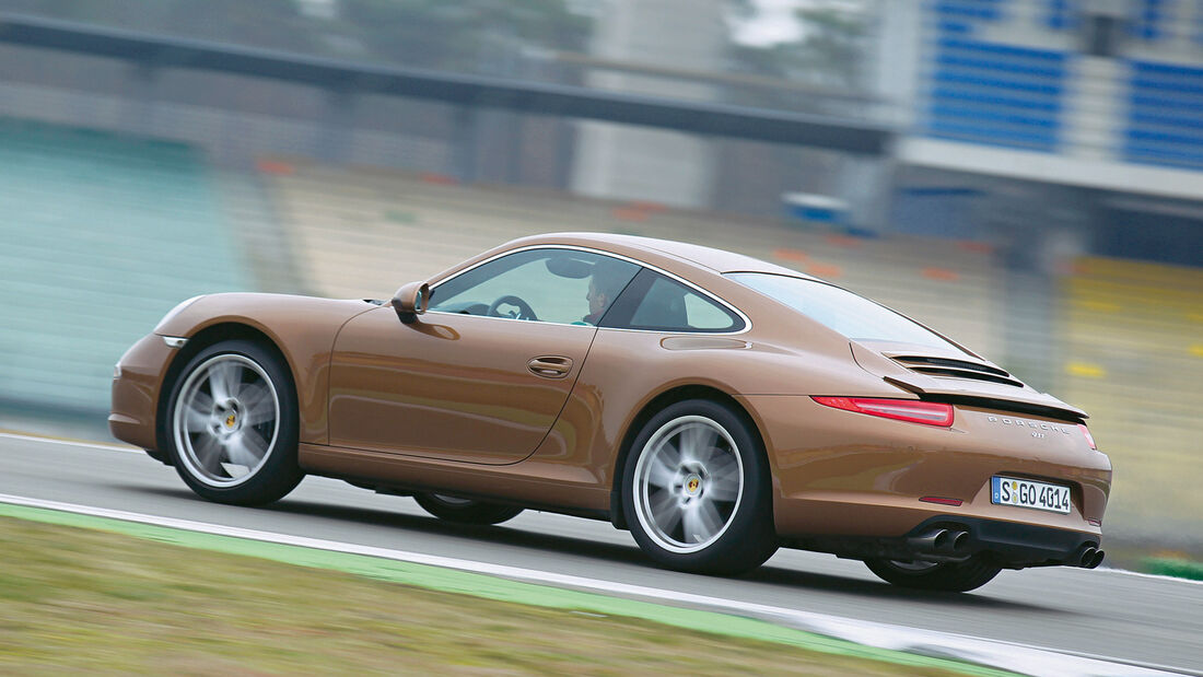 Porsche 911 Carrera, Bremsstabilität
