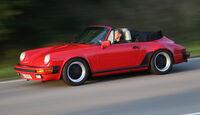 Porsche 911 Carrera Cabrio, Seitenansicht