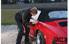 Porsche 911 Carrera Cabrio, Seitenführung