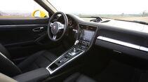Porsche 911 Carrera Cabriolet, Cockpit, Innenraum