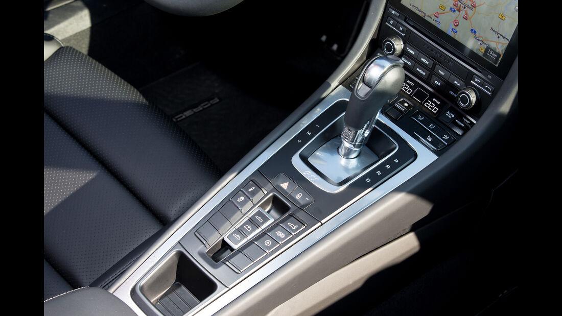 Porsche 911 Carrera Cabriolet, Schaltung
