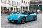Porsche 911 Carrera Cabriolet, Seitenansicht