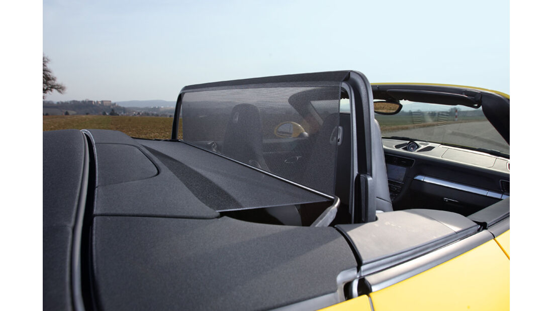 Porsche 911 Carrera Cabriolet, Windschutz