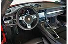 Porsche 911 Carrera, Cockpit, Lenkrad