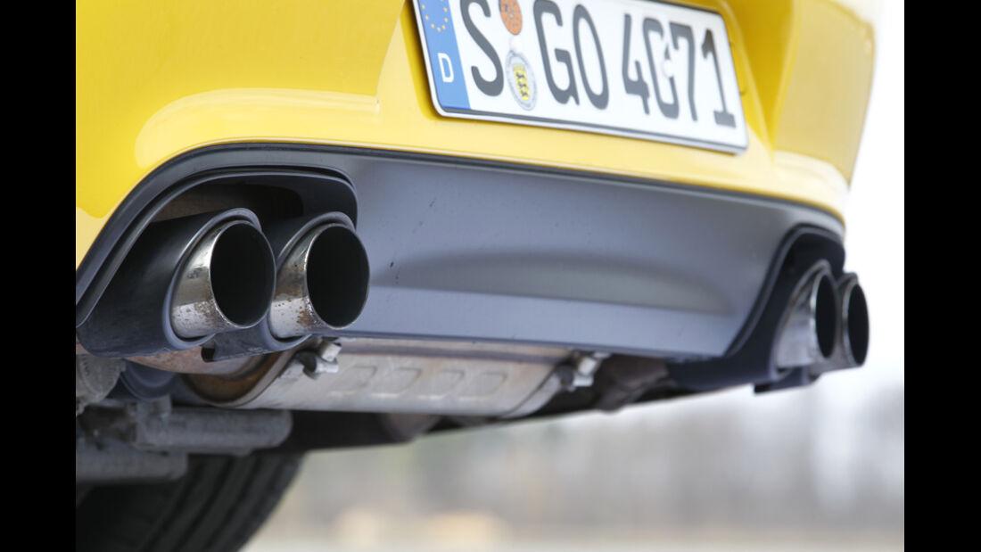Porsche 911 Carrera GTS Auspuff