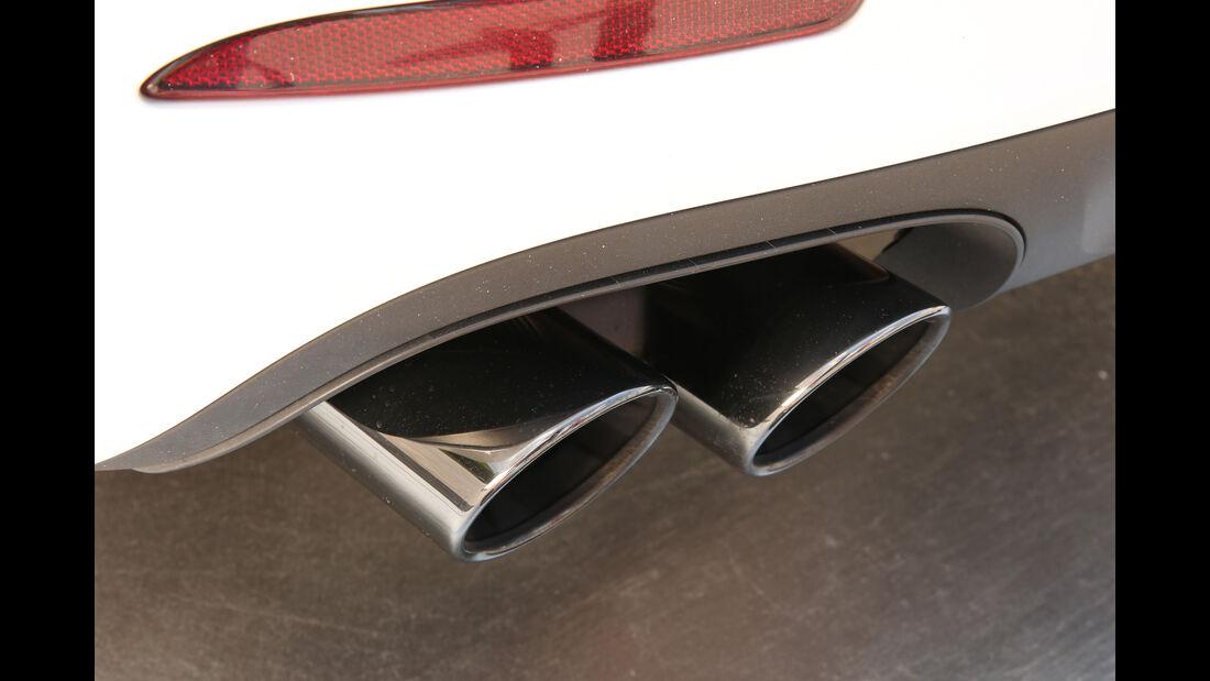 Porsche 911 Carrera GTS, Auspuff, Endrohr