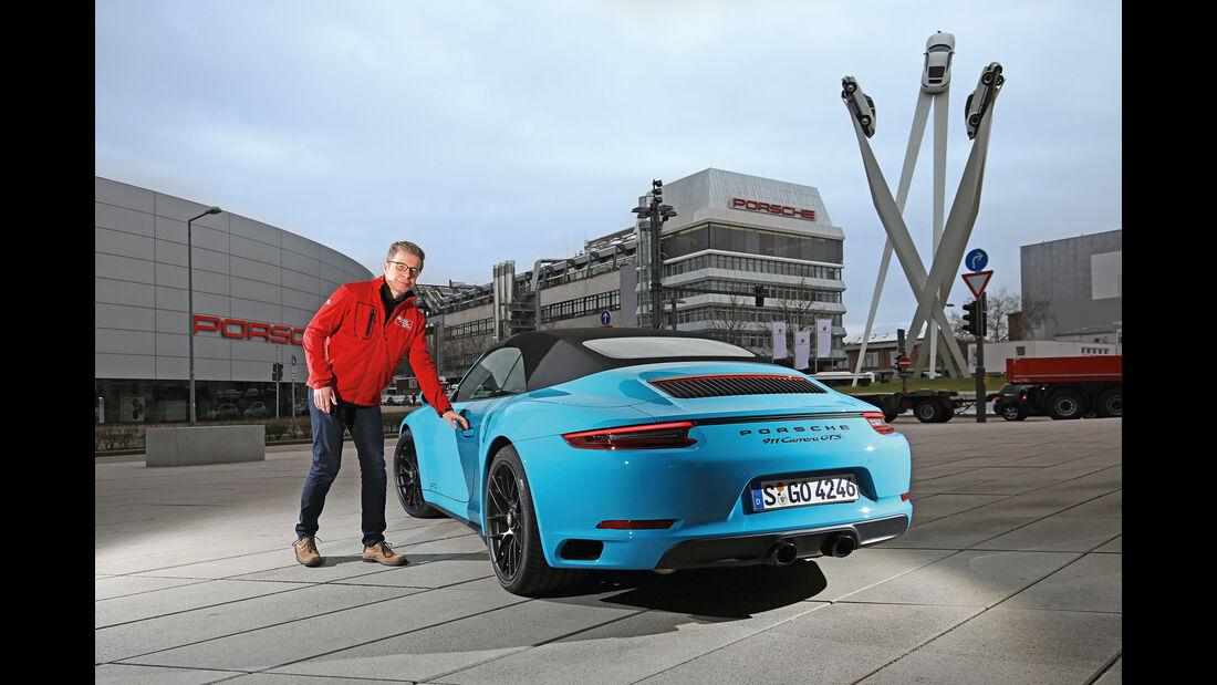Porsche 911 Carrera GTS Cabrio, Heckansicht