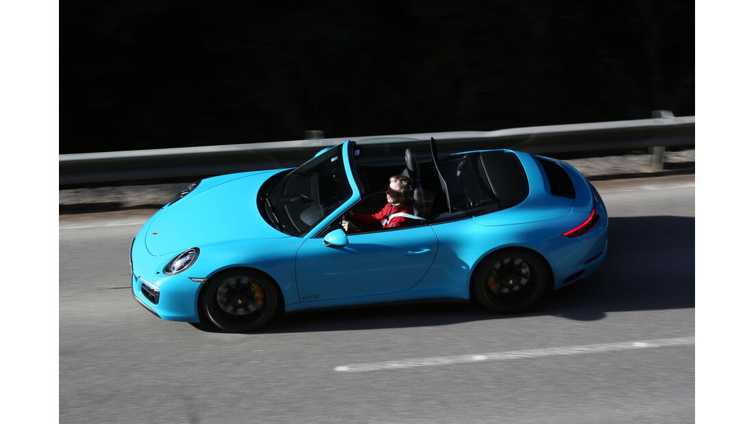 Porsche 911 Carrera GTS Cabrio, Seitenansicht