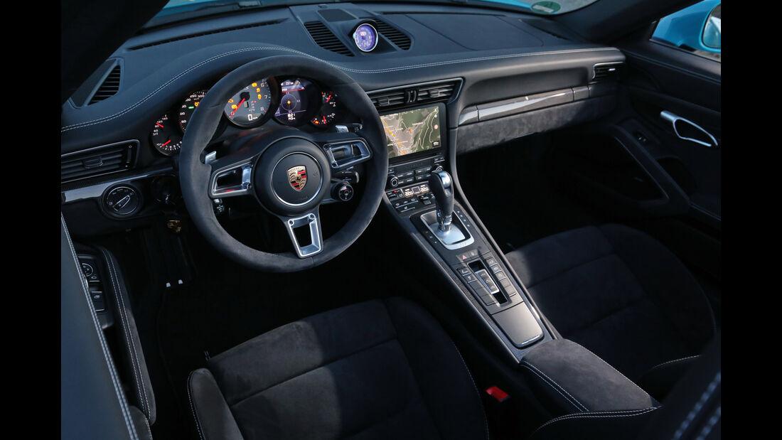 Porsche 911 Carrera GTS Cabrio, Sitze, Polster