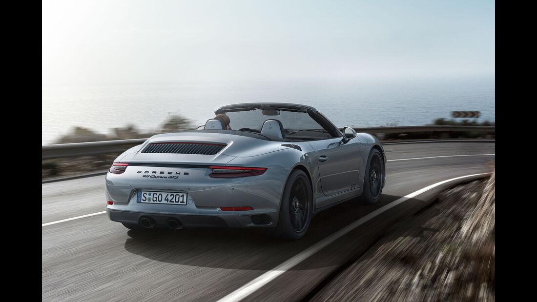 Porsche 911 Carrera GTS - Cabrio - Sportwagen - Turbo - Heckmotor