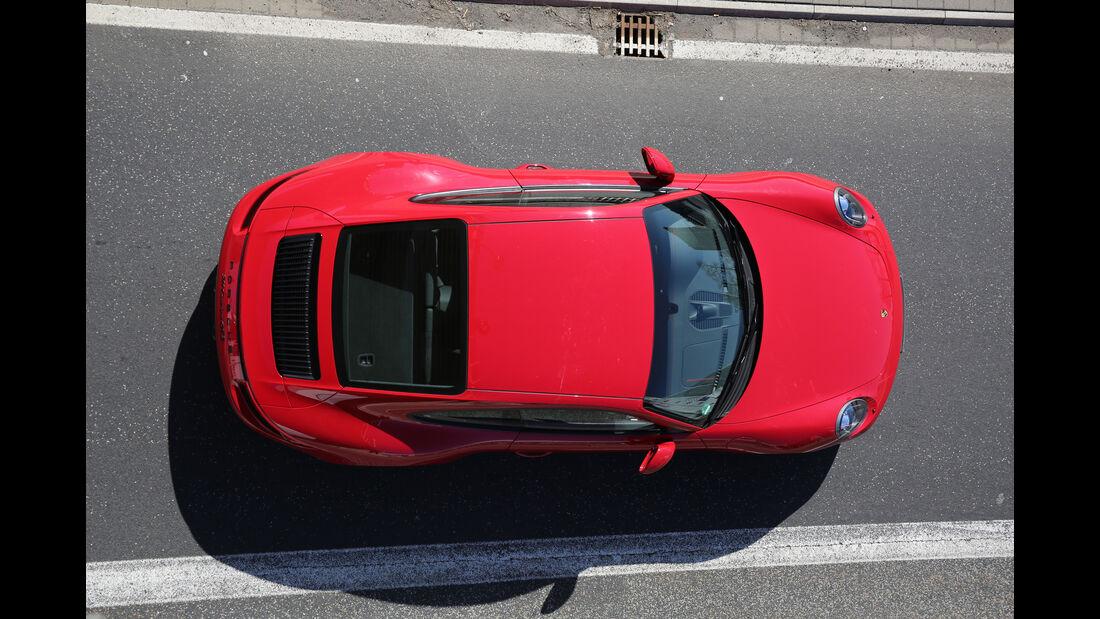 Porsche 911 Carrera GTS, Draufsicht