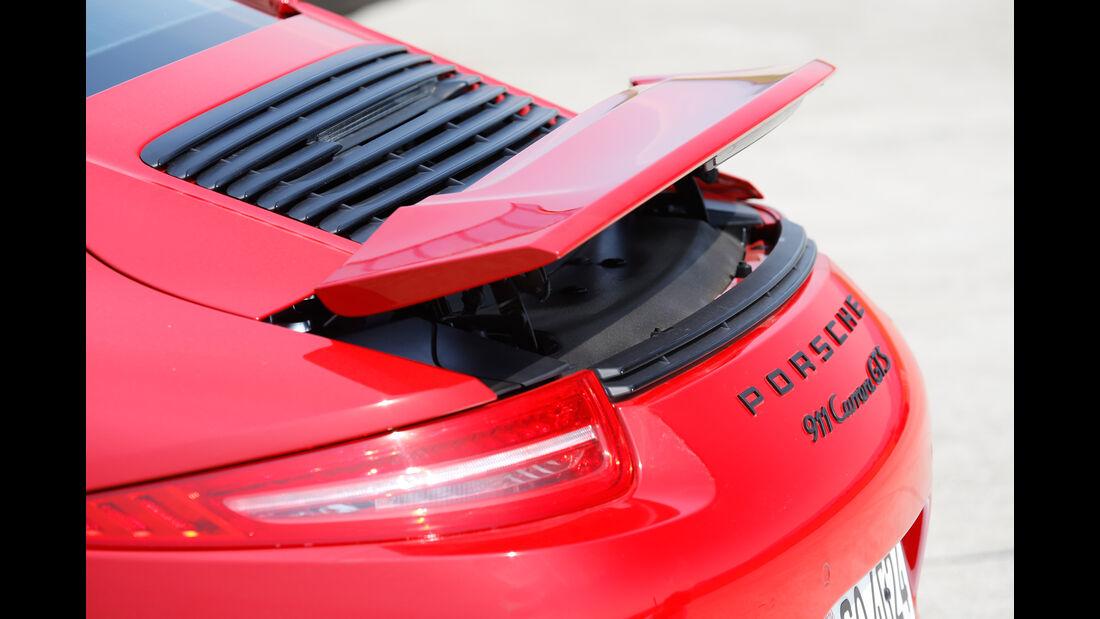Porsche 911 Carrera GTS, Heckspoiler