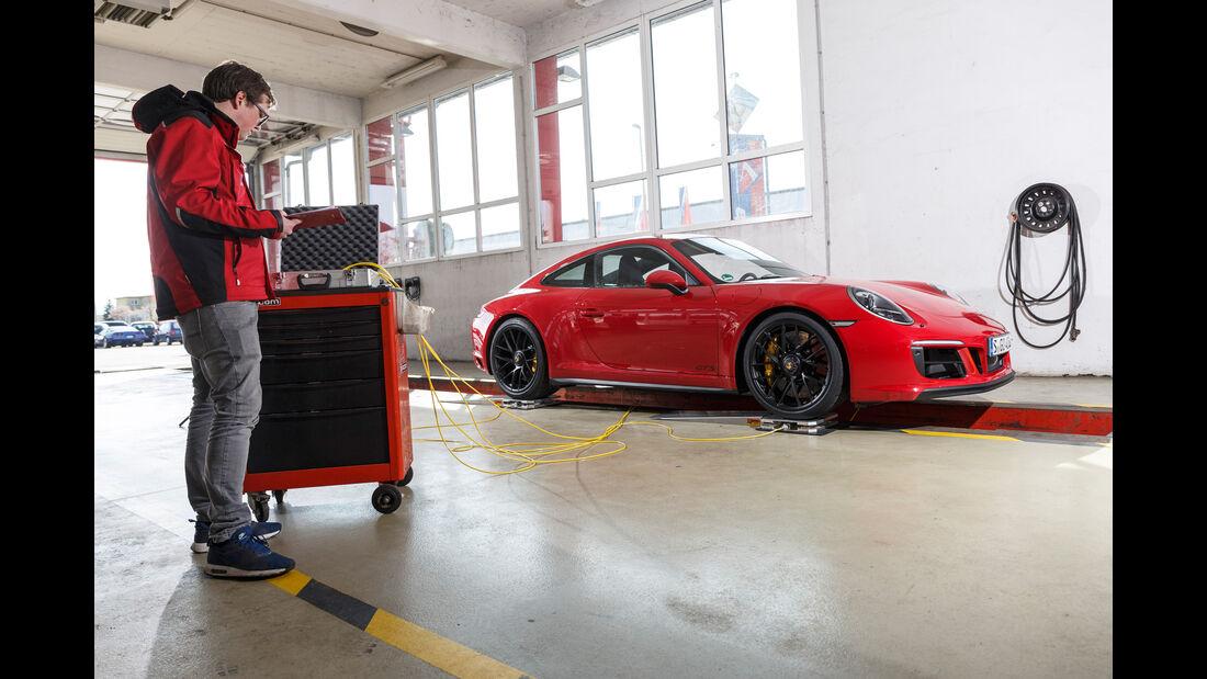 Porsche 911 Carrera GTS, Leistungsmessung