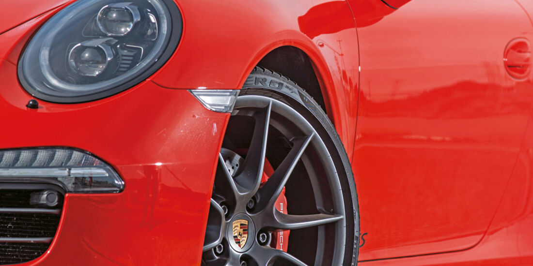 Porsche 911 Carrera GTS, Mercedes AMG GT S: Das Sportwagen