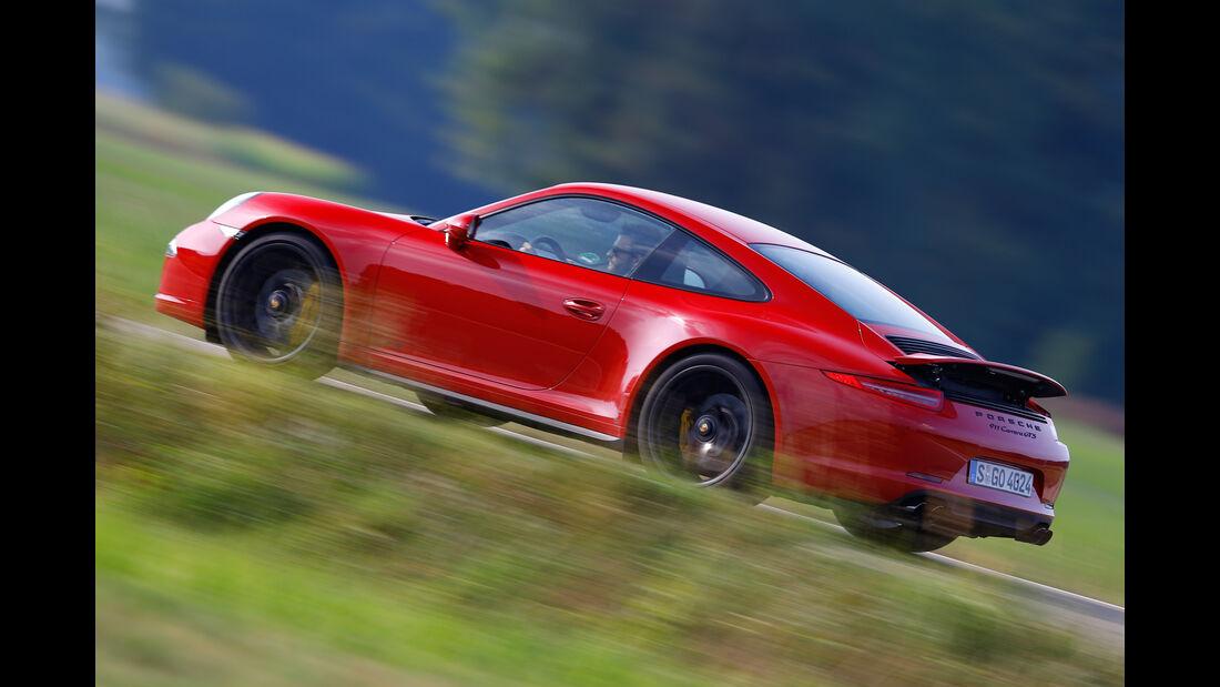 Porsche 911 Carrera GTS, Seitenansicht