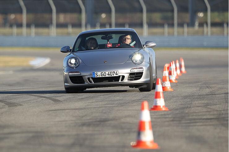 Porsche 911 Carrera GTS, Slalom