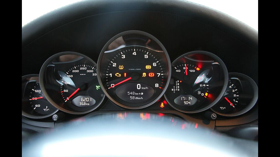 Porsche 911 Carrera GTS, Tacho