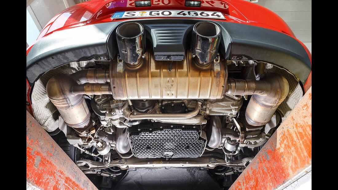 Porsche 911 Carrera GTS, Unterboden