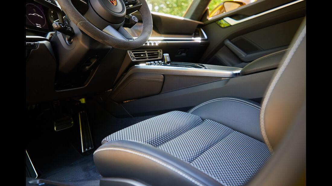 Porsche 911 Carrera, Interieur