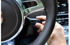 Porsche 911 Carrera, Lenkrad, Menühebel