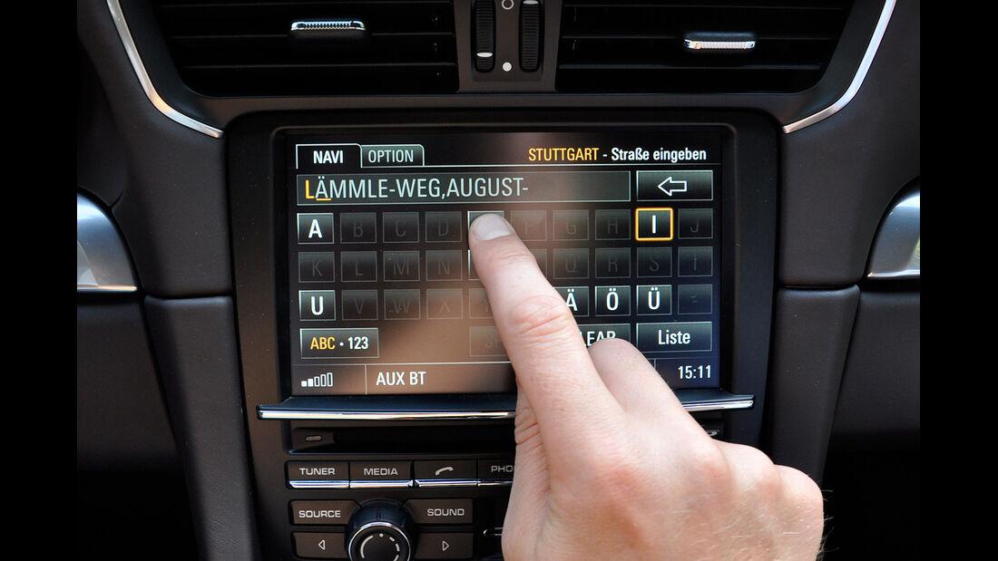 Porsche 911 Carrera, Navigationssystem