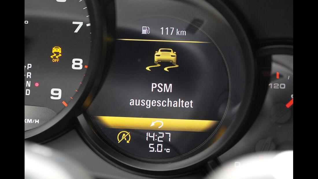 Porsche 911 Carrera, PSM, Bordcomputer