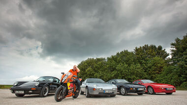 Porsche 911 Carrera, Porsche 928 S4, Porsche 924 S, Porsche 944