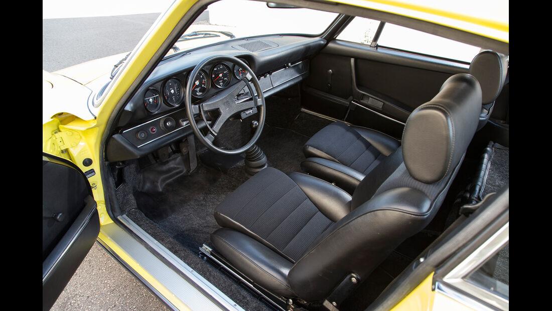Porsche 911 Carrera RS 2.7, Cockpit, Fahrersitz