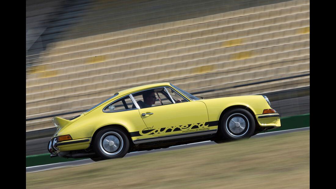 Porsche 911 Carrera RS 2.7, Seitenansicht