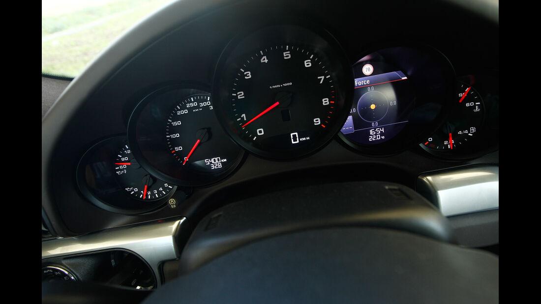 Porsche 911 Carrera, Rundinstrumente