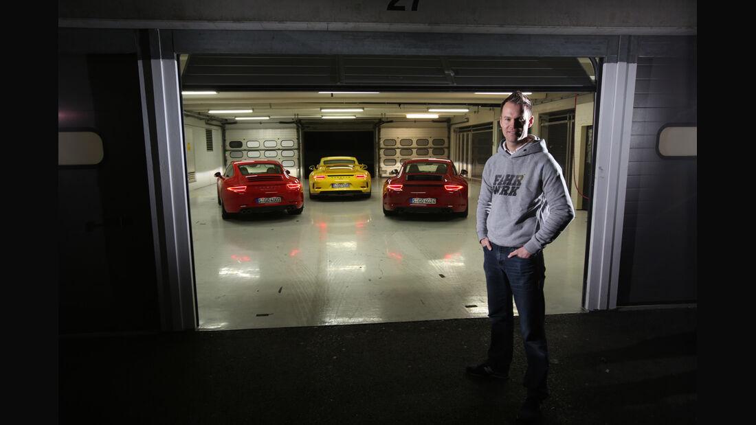 Porsche 911 Carrera S, 911 Carerra GTS, 911 GT3, Christian Gebhardt