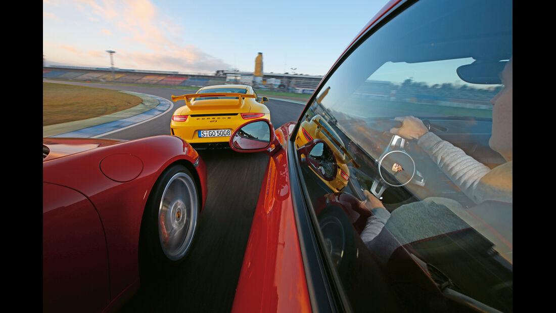Porsche 911 Carrera S, 911 Carerra GTS, 911 GT3, Fahrt