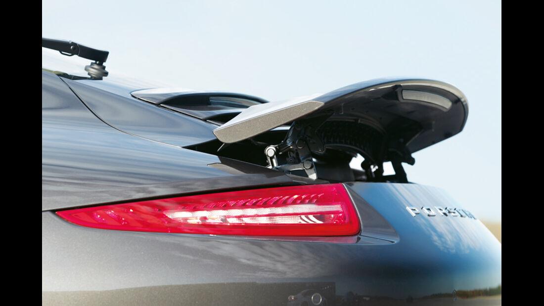 Porsche 911 Carrera S 991, Heckspoiler